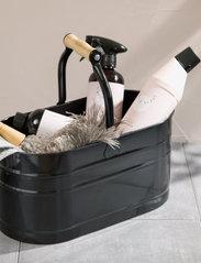 Simple Goods - Cleaning Caddy - förvaring - black / wood - 2