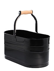 Cleaning Caddy - BLACK / WOOD