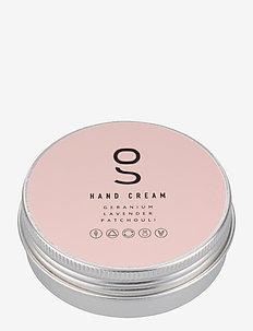 Hand Cream, Geranium, Lavender, Patchouli, 60 ml - handkräm & fotkräm - clear