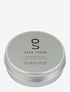 Hand Cream, Ginger, Sage, Pink Grapefruit, 60 ml - handkräm & fotkräm - clear