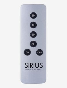 Sirius Remote  Control - lampetilbehør - silver