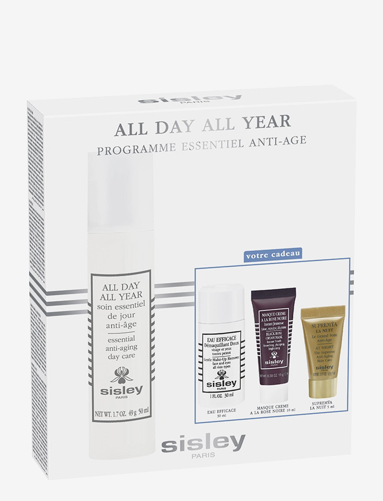 Sisley - All Day All Year Discovery Program - hudplejesæt - clear - 0