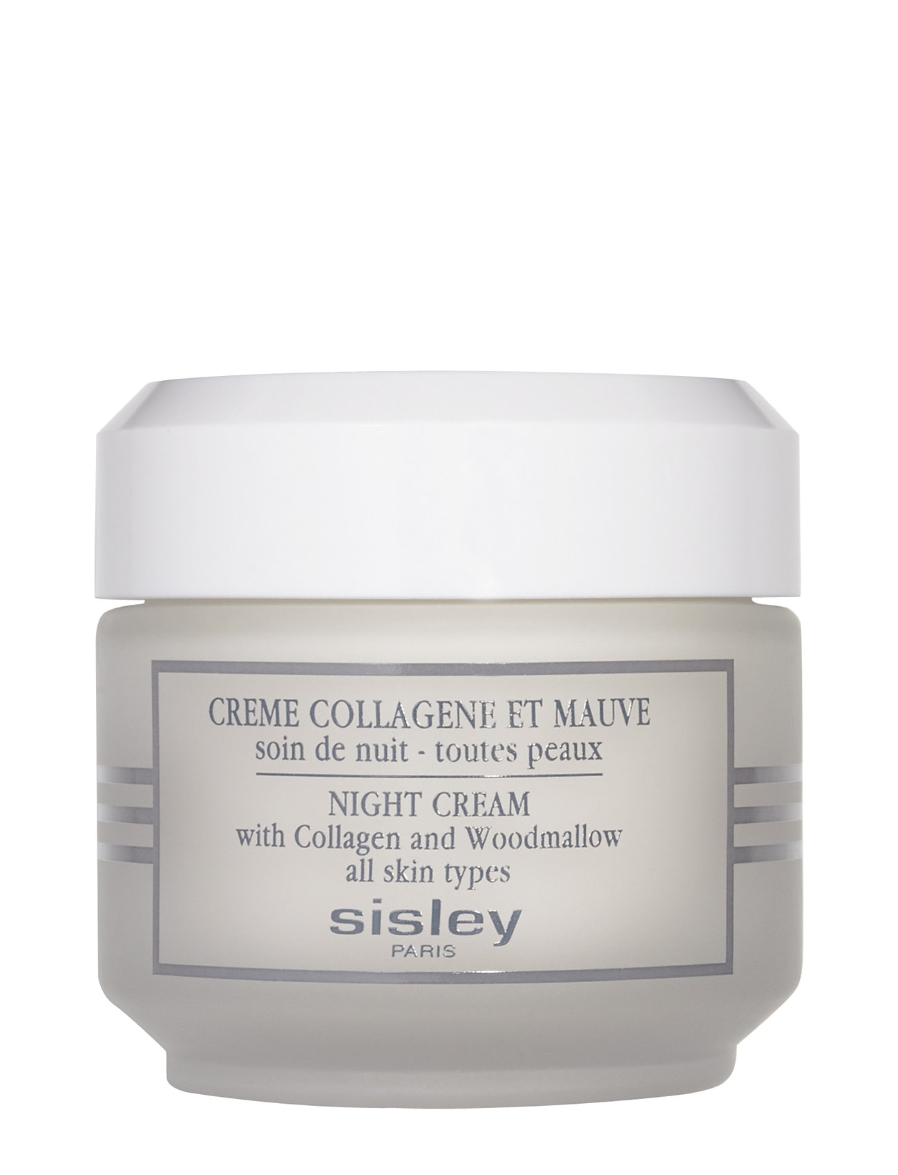 Sisley NIGHT CREAM COLLAGEN AND WOODMALLOW 50ml - CLEAR