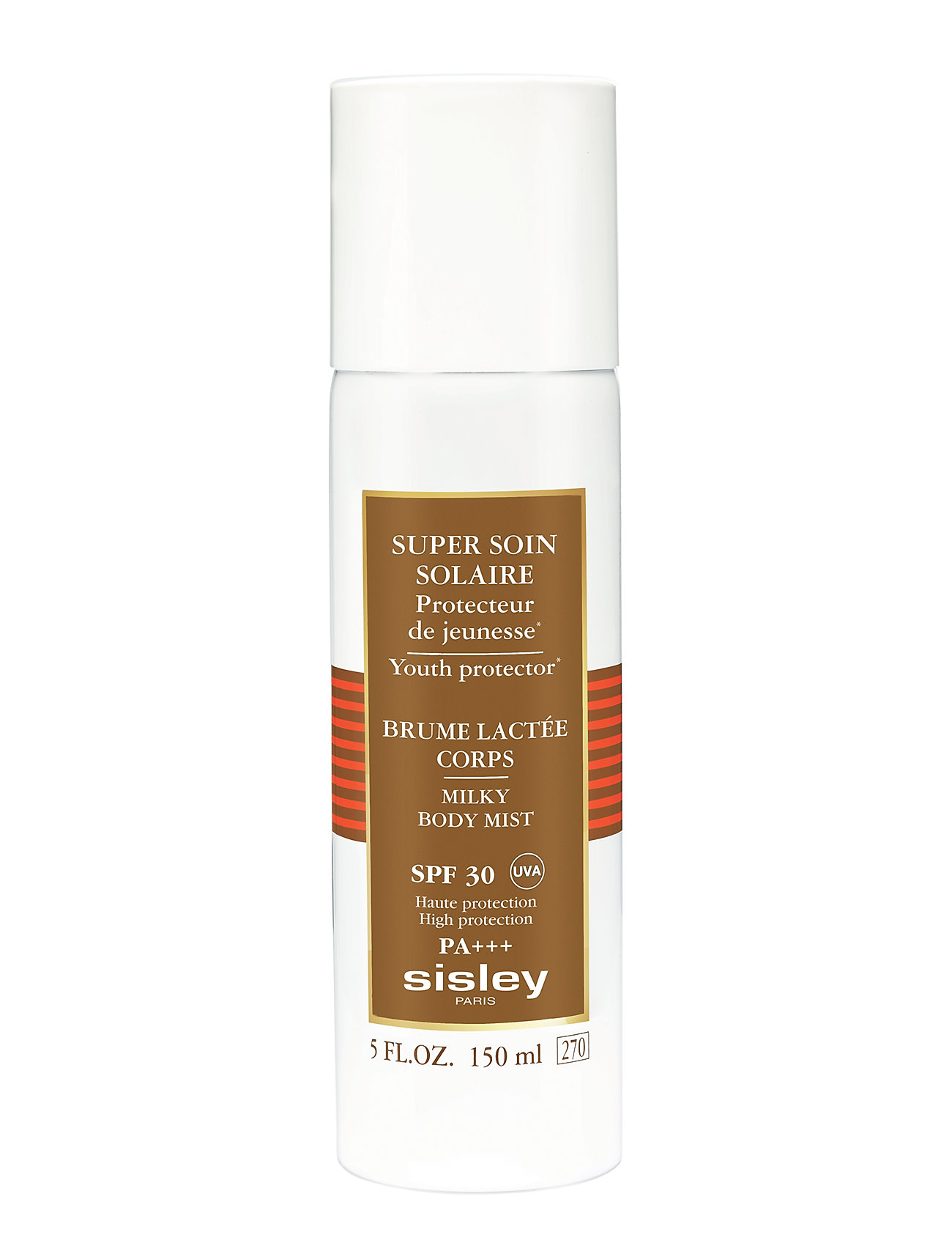 Sisley MILKY BODY MIST SUN CARE SPF30 150ml - CLEAR