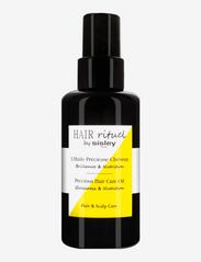 Sisley - PRECIOUS HAIR CARE OIL 100ml - håroljor - clear - 0