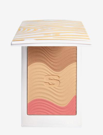 SUN GLOW TRIO PEACH GOLD - bronzer & solpuder - peach gold
