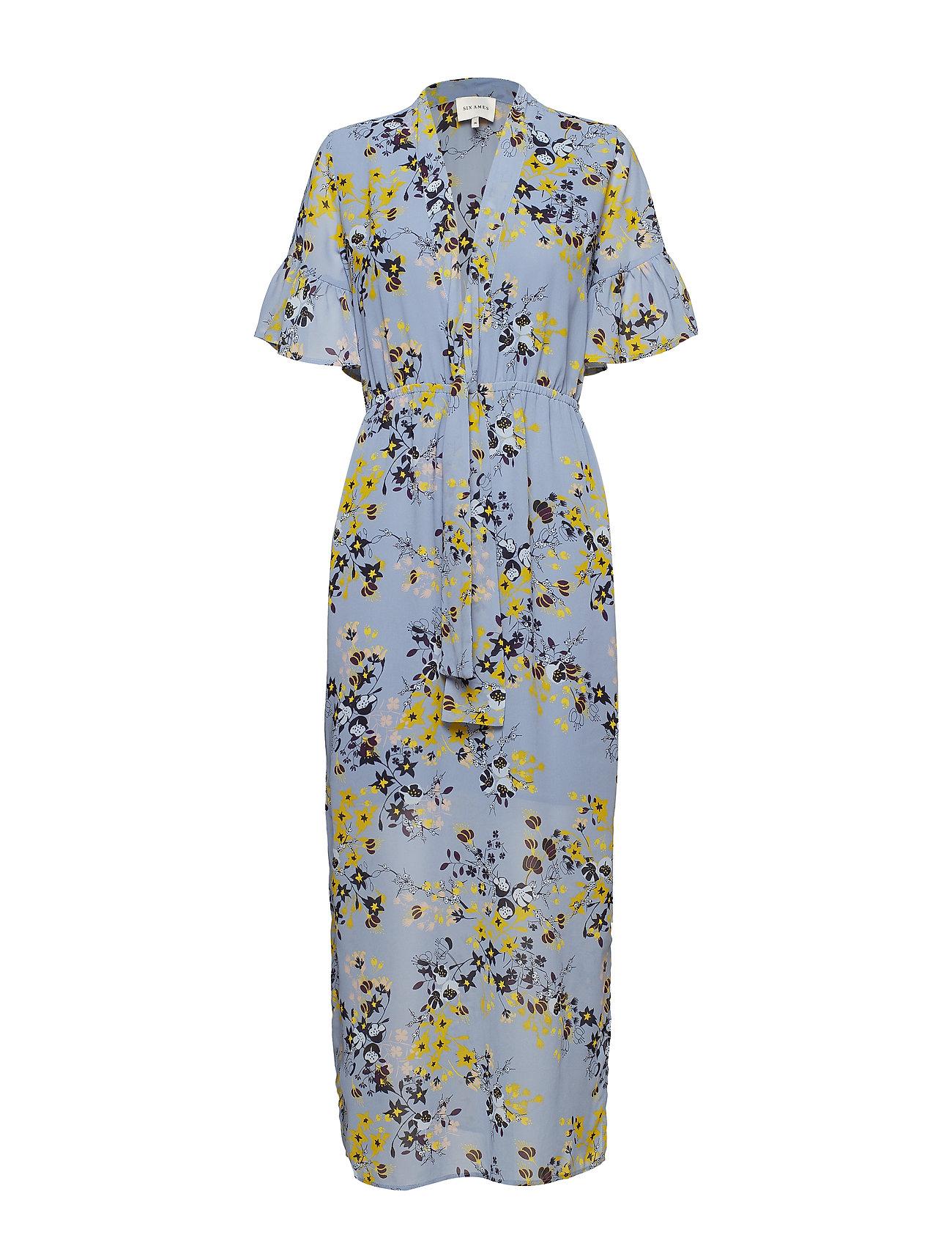 Six Ames DELPHINE - BLUE FLOWER FIELD