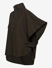Six Ames - KAPPA - wool jackets - green melange - 2