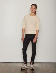 Six Ames - COSETTE - slim fit bukser - black - 0