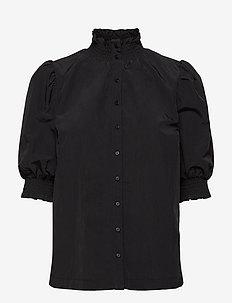 JULIETTA - blouses met korte mouwen - black