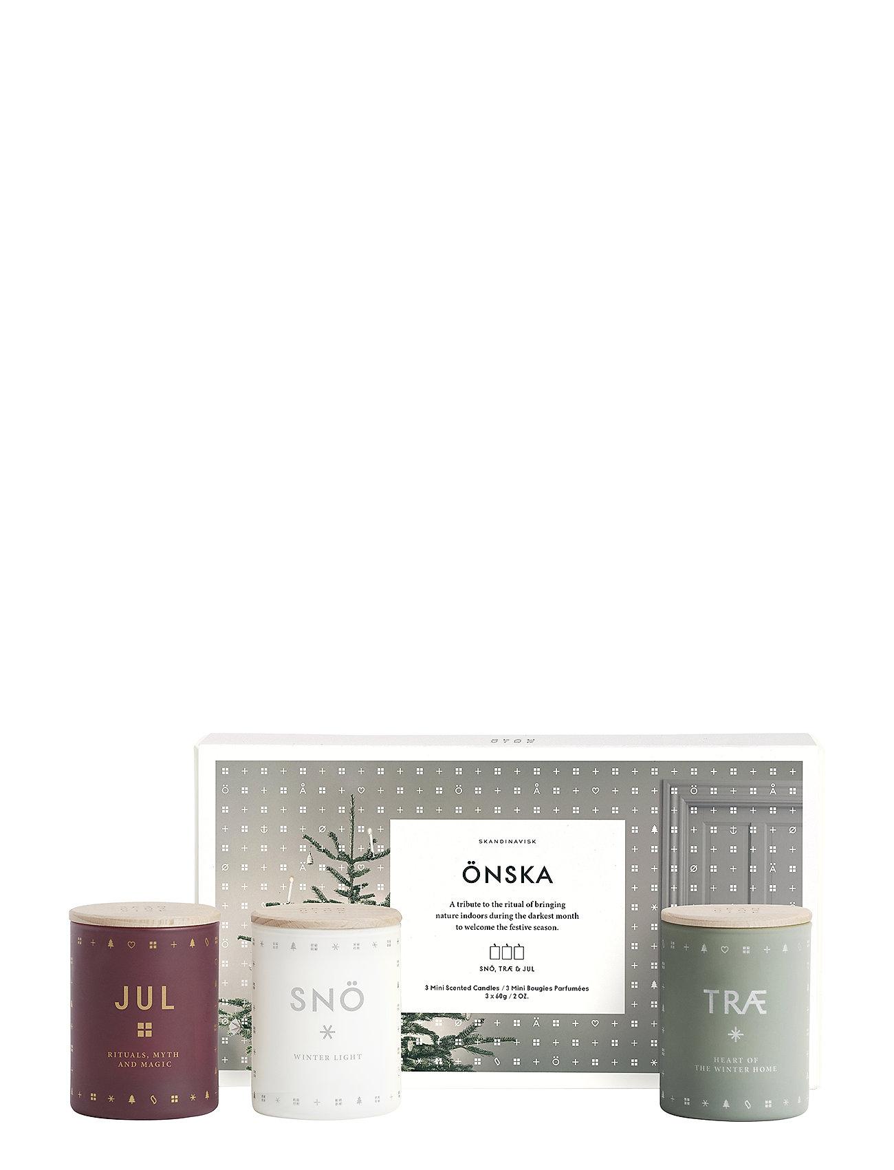 Skandinavisk ÖNSKA Mini Candle Set - NO COLOUR