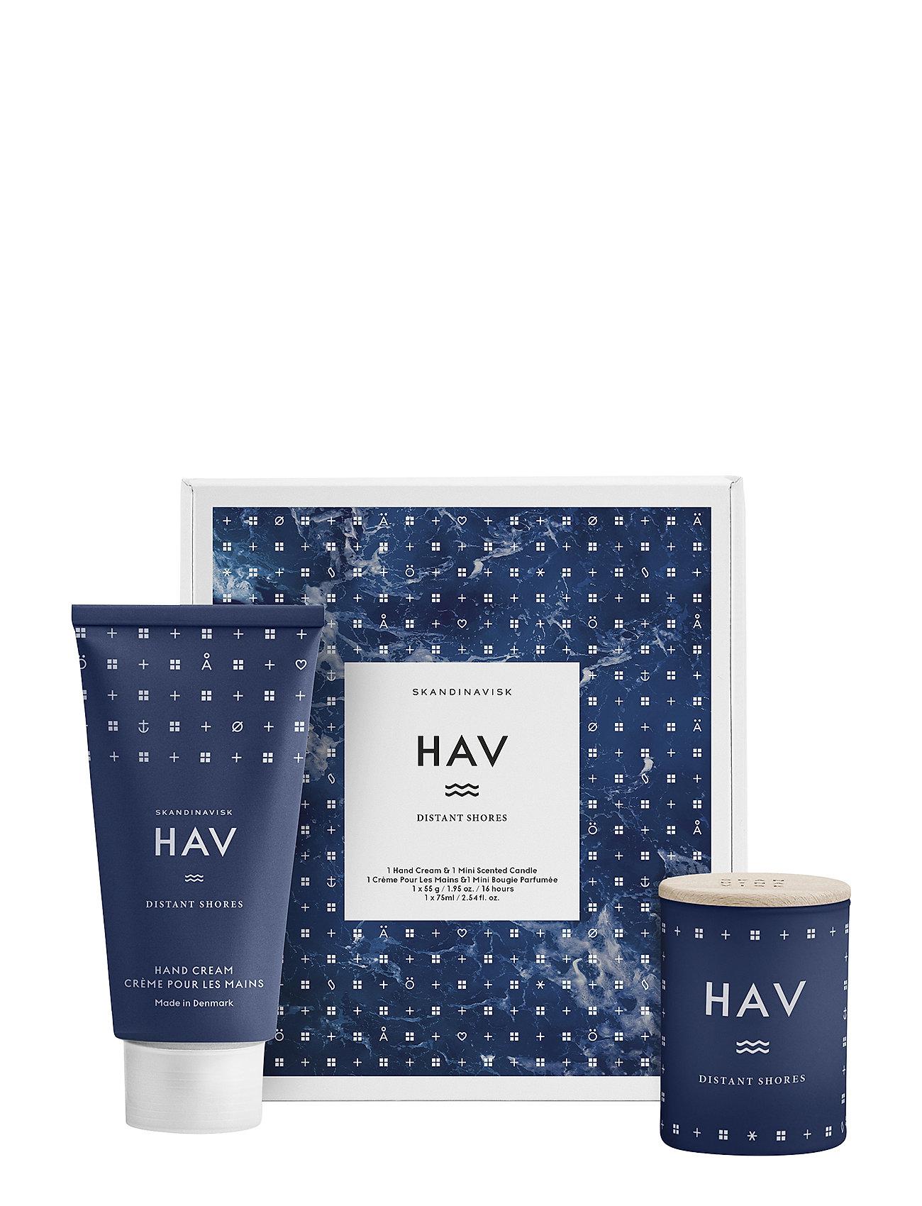 Image of Hav Mini Candle & Handcream Set Gavesæt Beauty Nude Skandinavisk (3237677157)