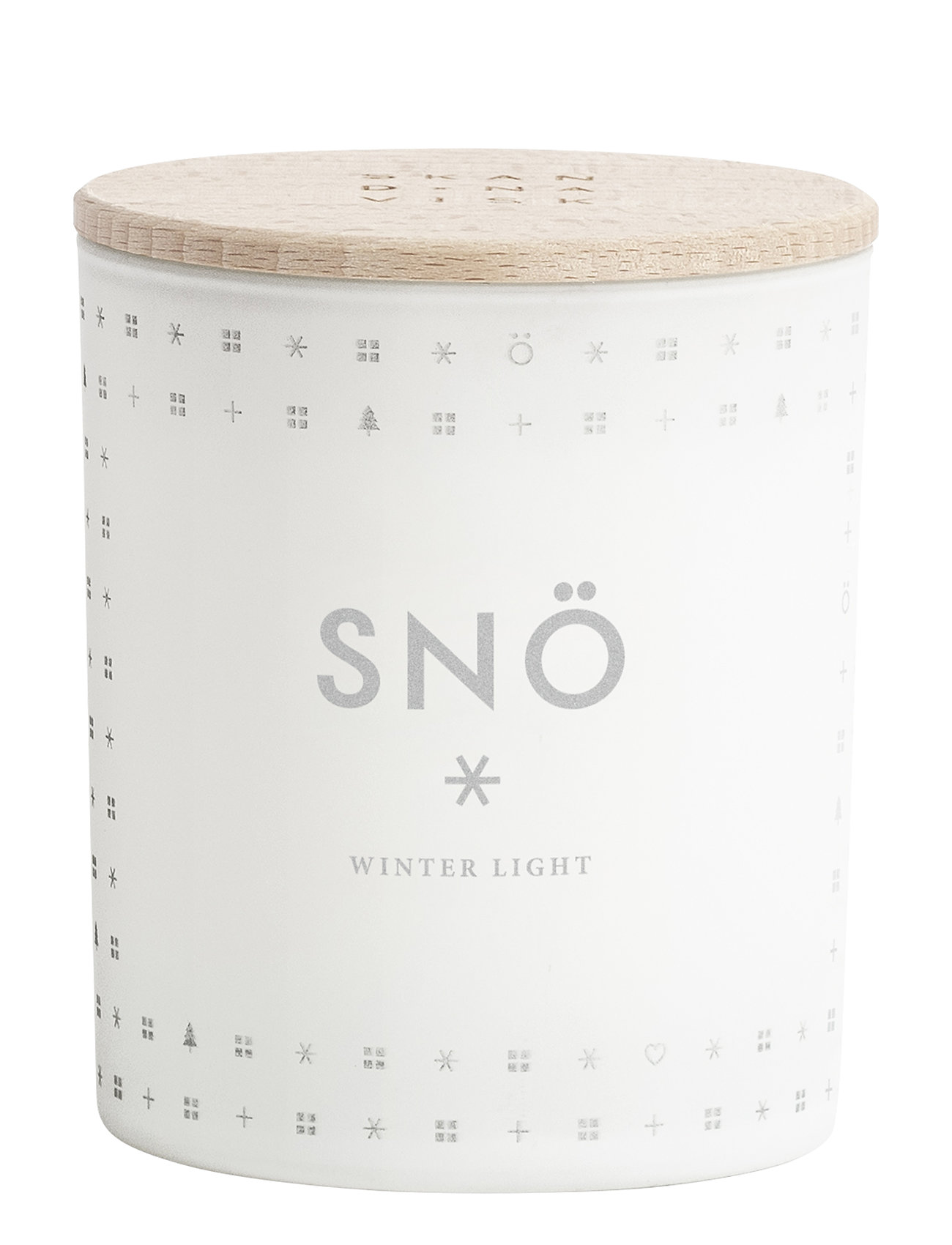 Skandinavisk SNÖ Scented Candle - NO COLOUR