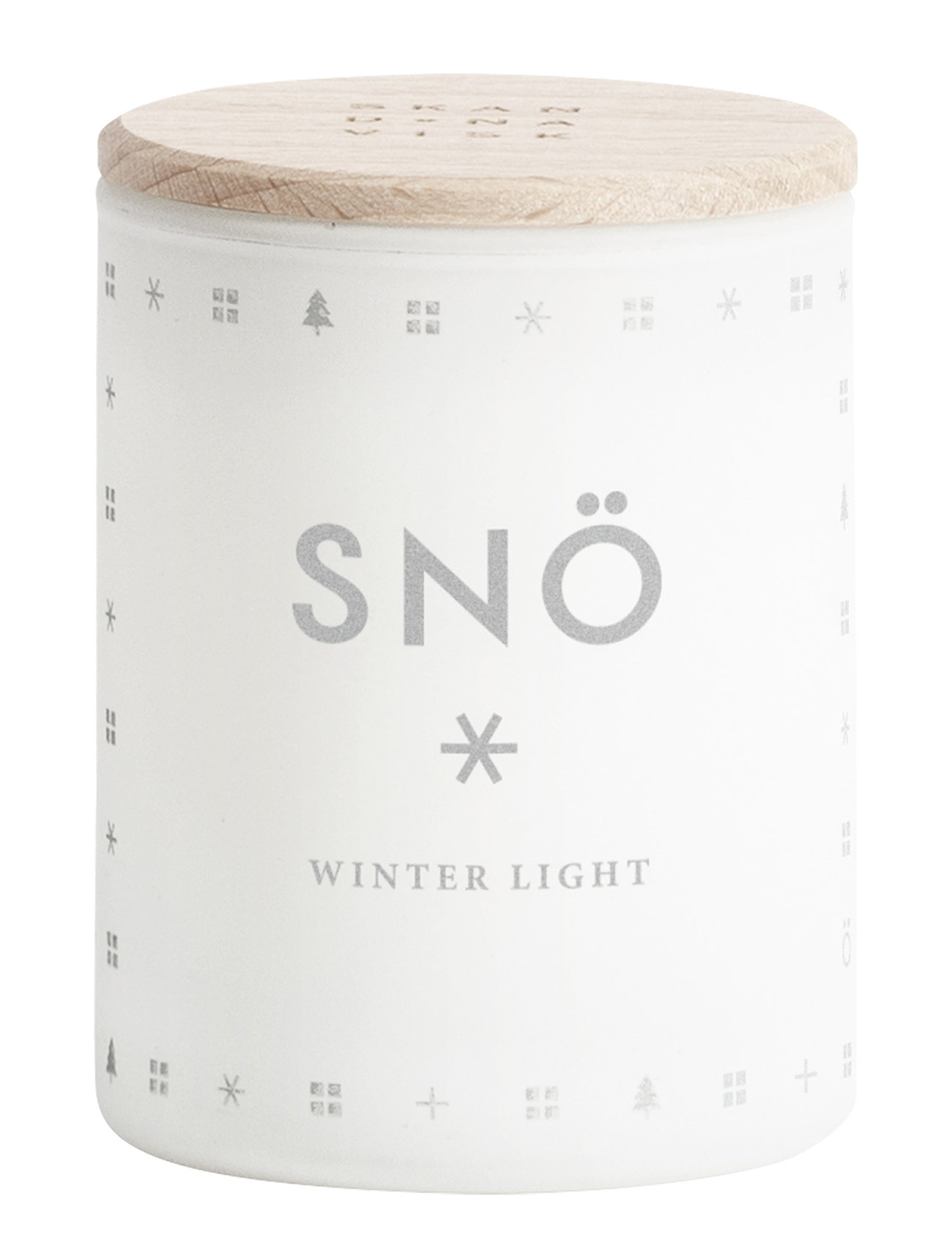 Skandinavisk SNÖ Mini Scented Candle - NO COLOUR