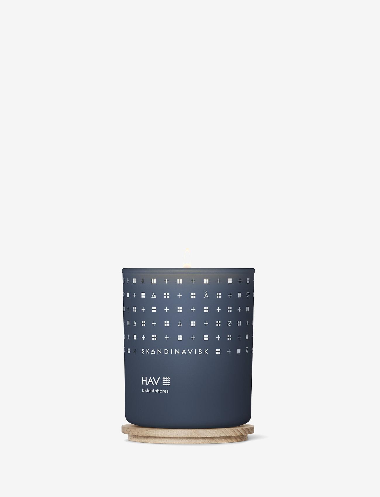 Skandinavisk - HAV Scented Candle with Lid 200g - dufte - deep blue - 1