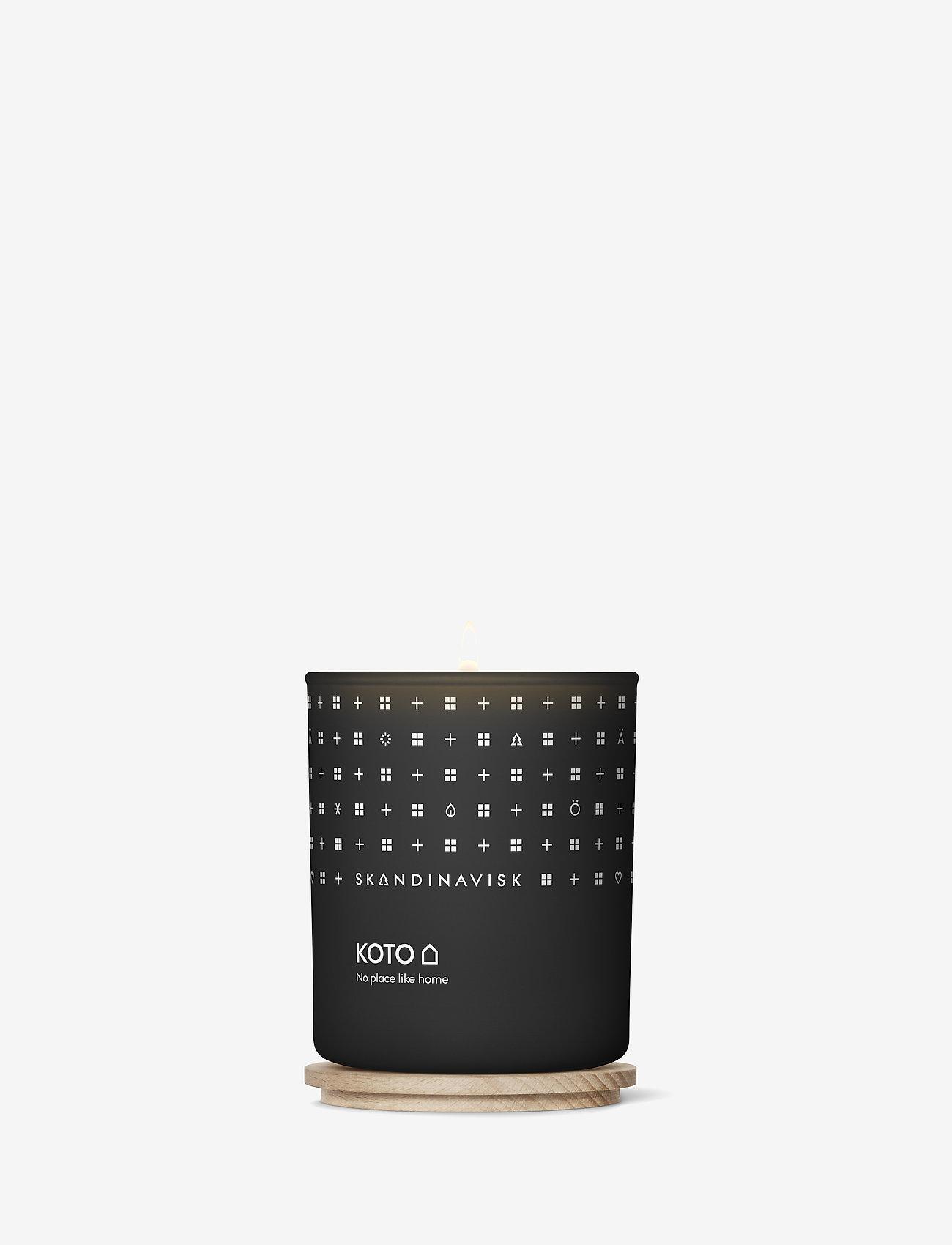 Skandinavisk - KOTO Scented Candle with Lid 200g - dufte - black - 1