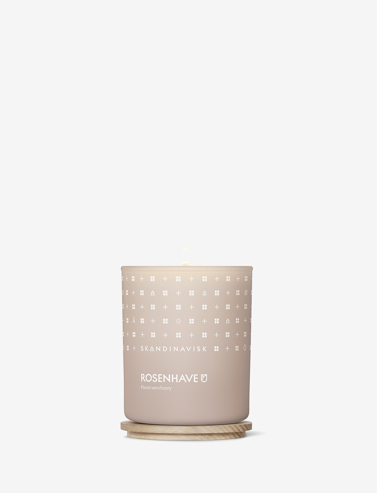 Skandinavisk - ROSENHAVE Scented Candle with Lid 200g - dufte - powder pink - 1