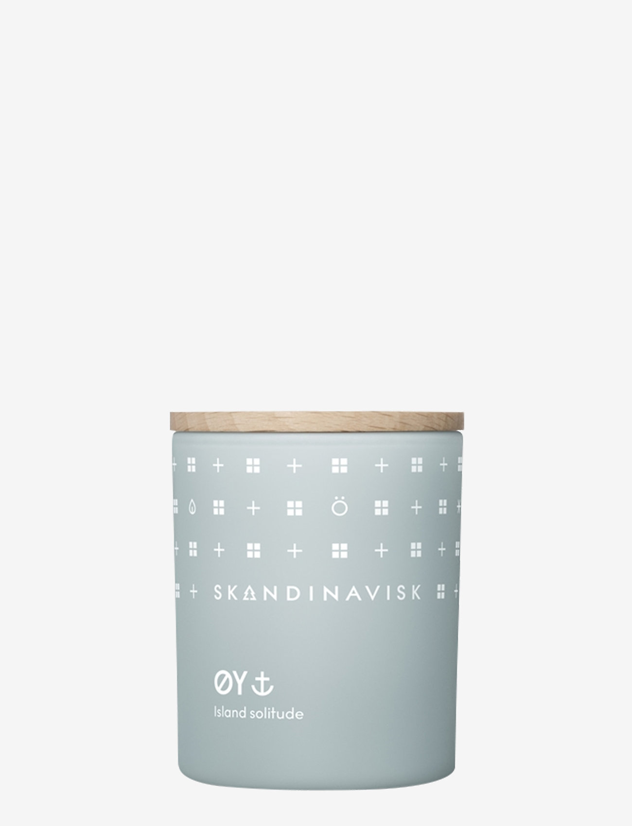 Skandinavisk - ØY Scented Candle with Lid 65g - dufte - powder blue - 0
