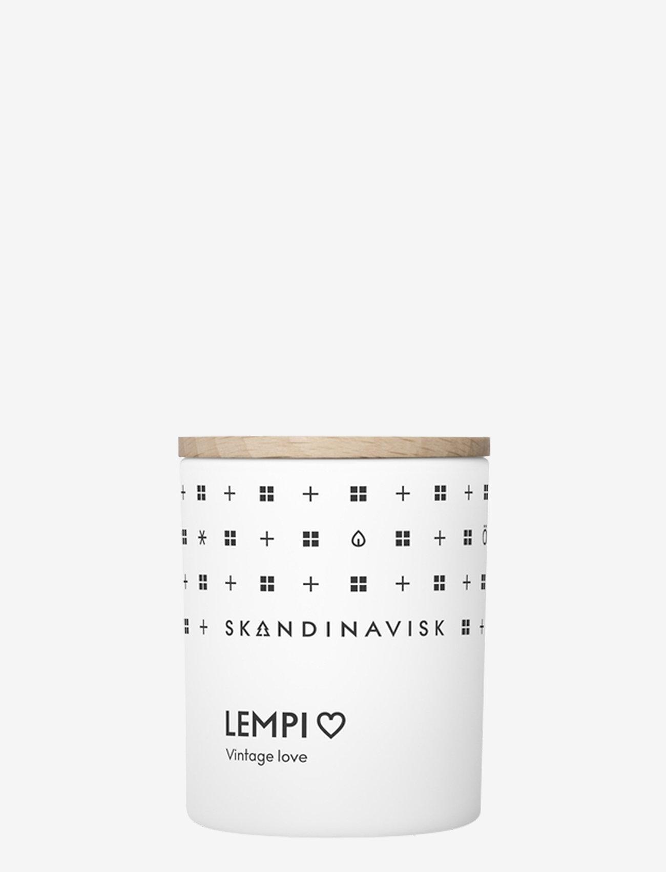 Skandinavisk - LEMPI Scented Candle with Lid 65g - dufte - white - 0