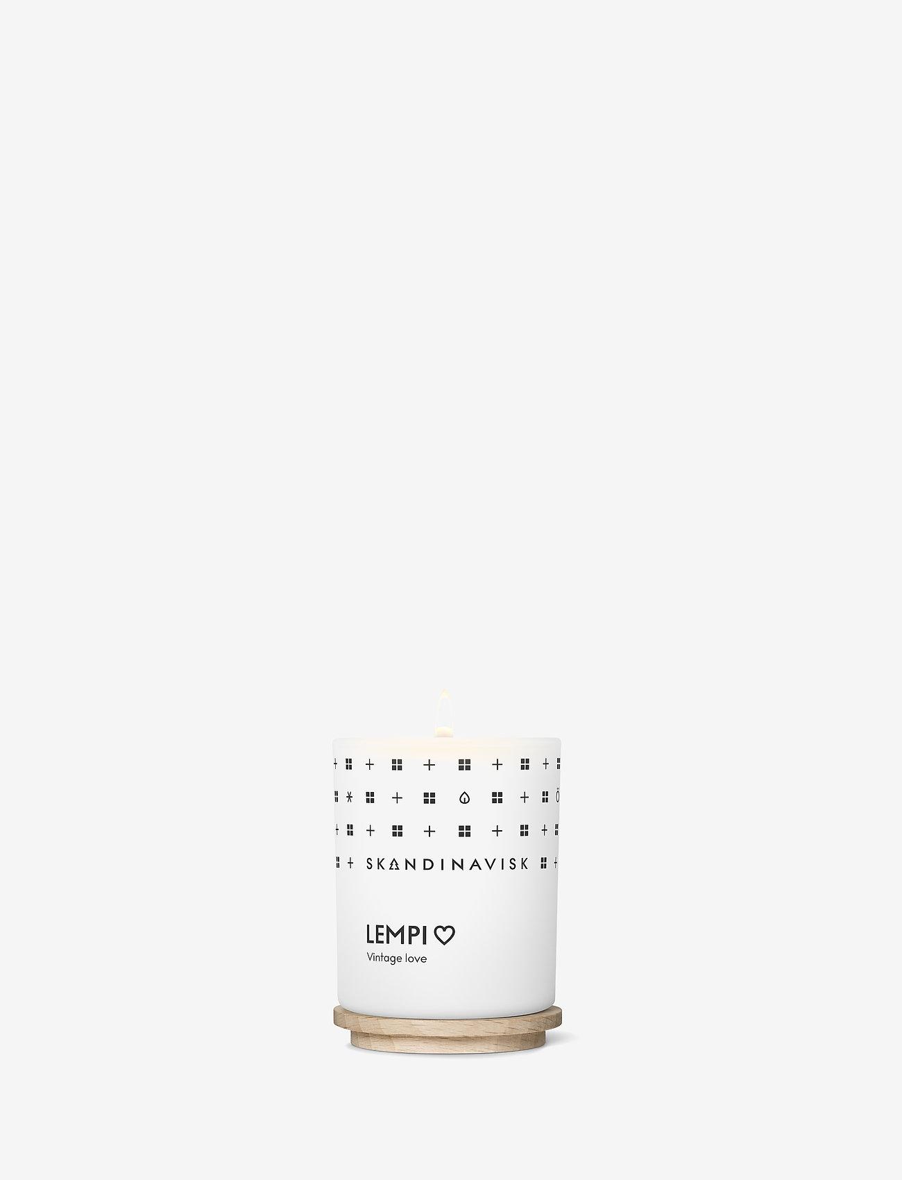 Skandinavisk - LEMPI Scented Candle with Lid 65g - dufte - white - 1