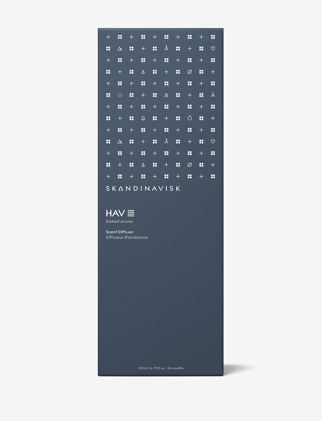 Skandinavisk - HAV Reed diffuser 200ml - doftpinnar - deep blue - 1