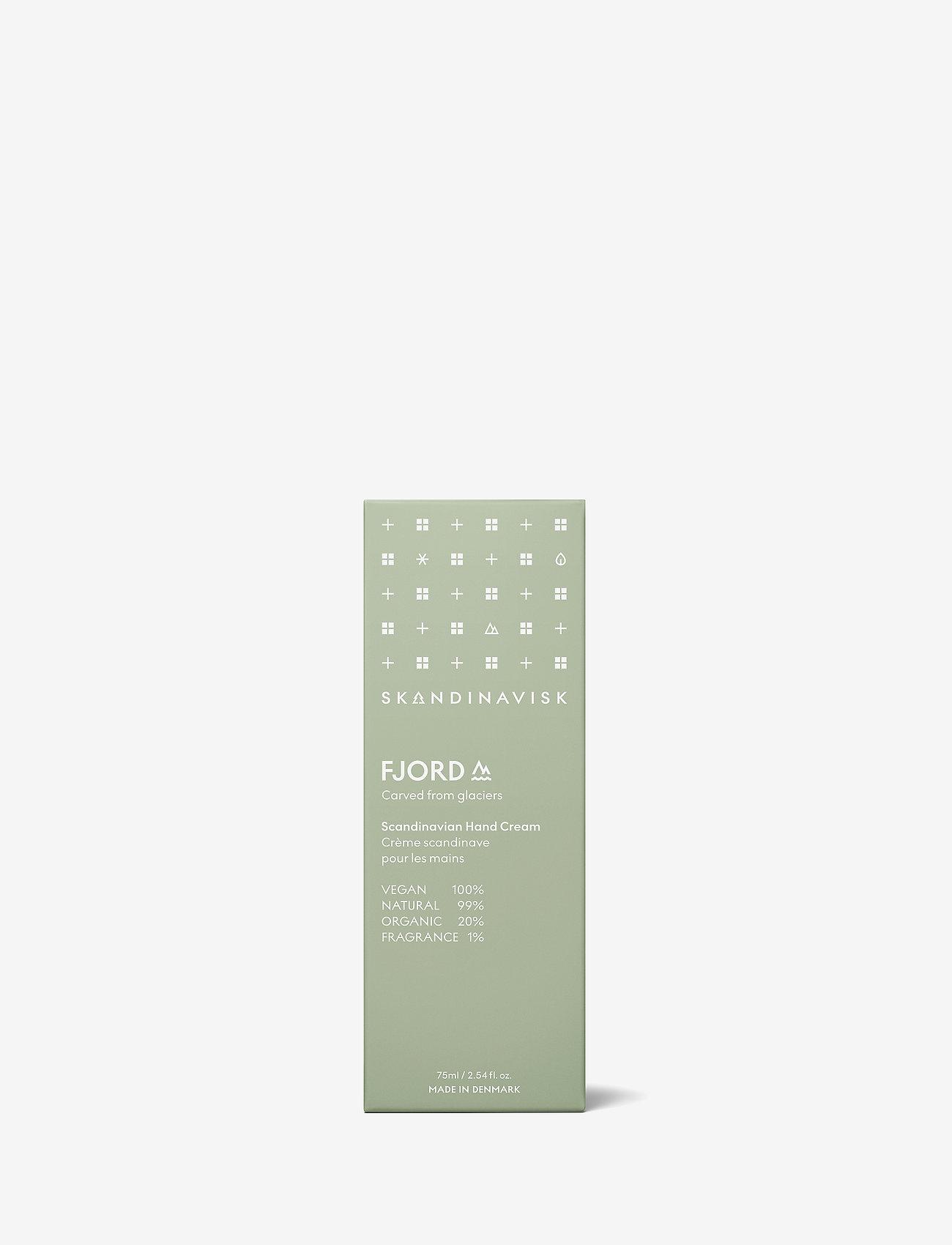 Skandinavisk - FJORD Hand Cream 75ml - käsivoide - fjord green - 1