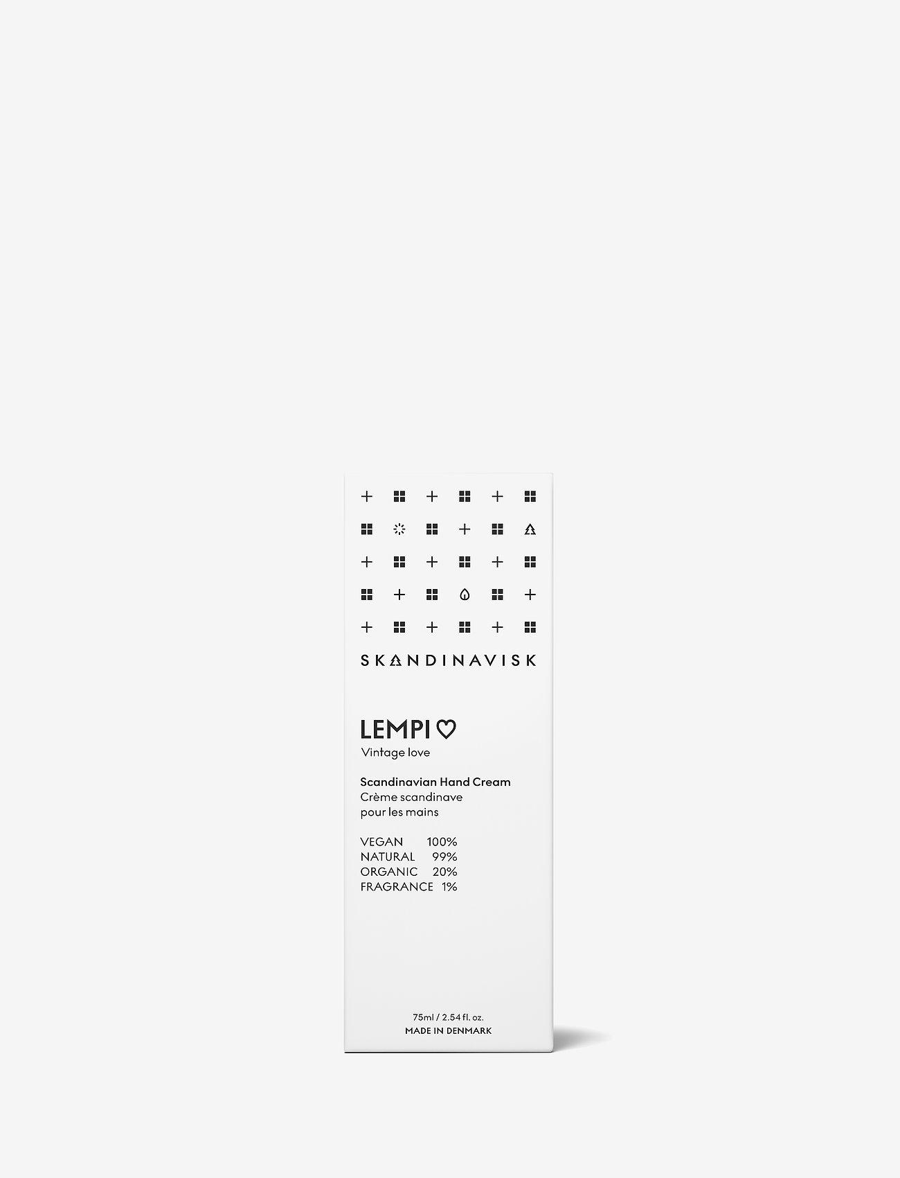 Skandinavisk - LEMPI Hand Cream 75ml - håndkrem - white - 1