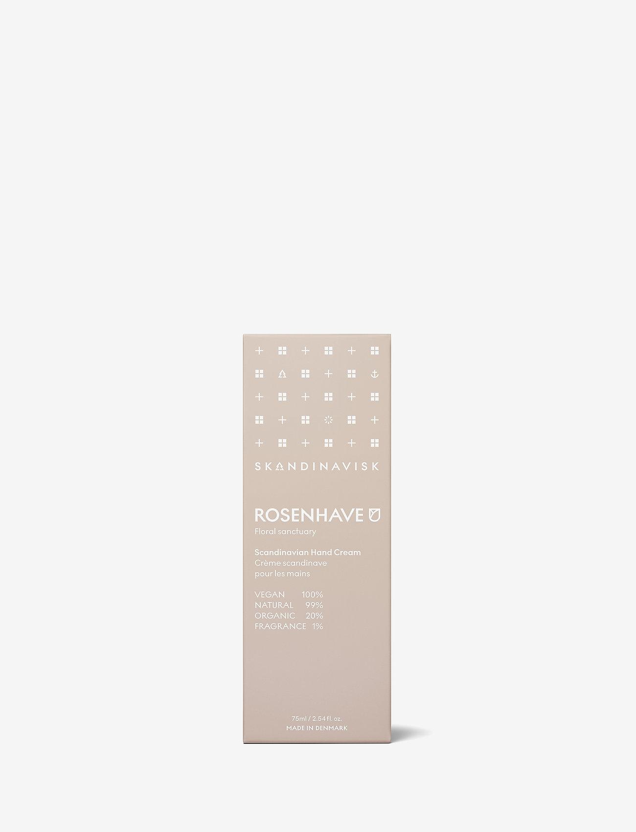 Skandinavisk - ROSENHAVE Hand Cream 75ml - handkräm & fotkräm - powder pink - 1