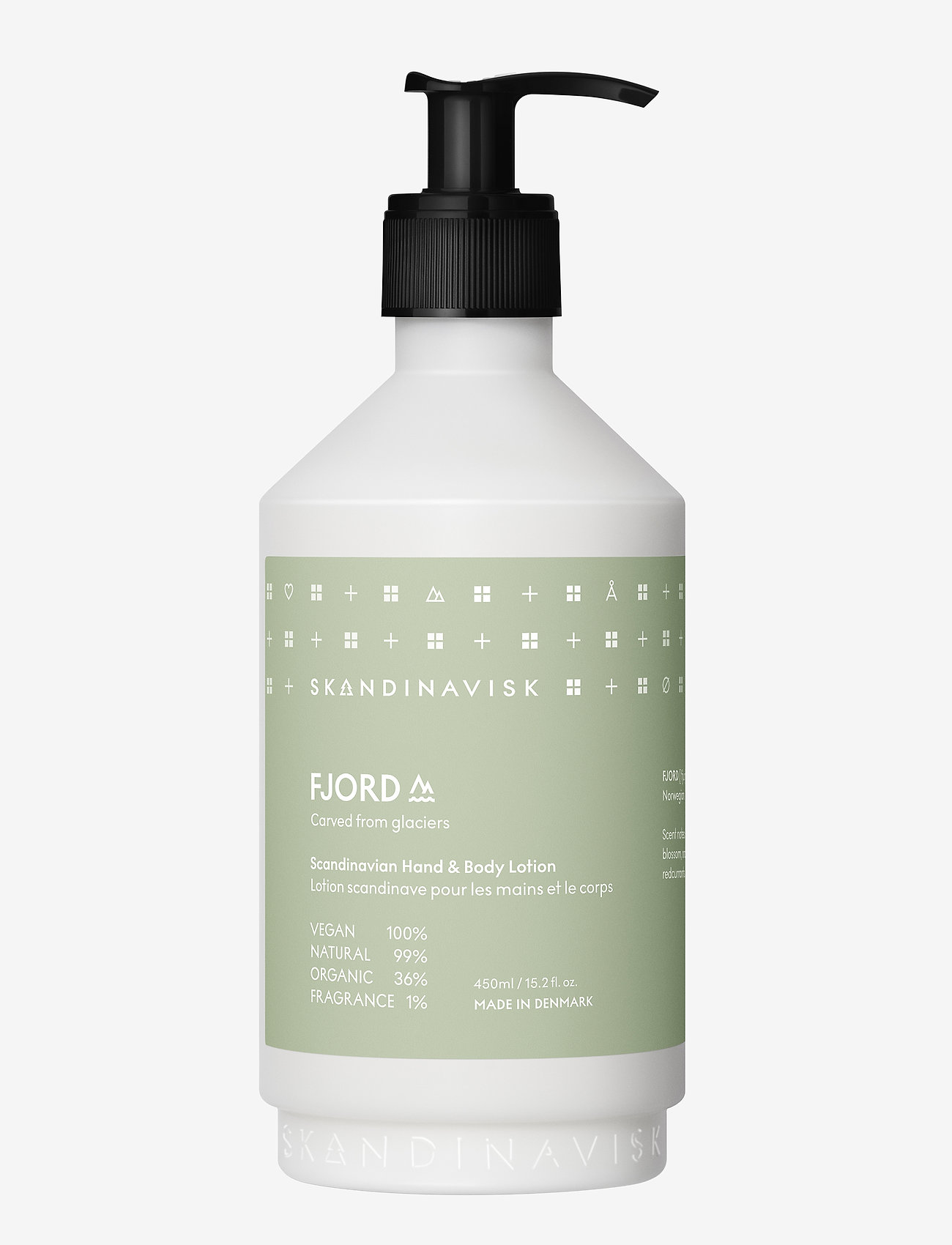 Skandinavisk - FJORD Hand & Body Lotion 450ml - body lotion - fjord green - 0