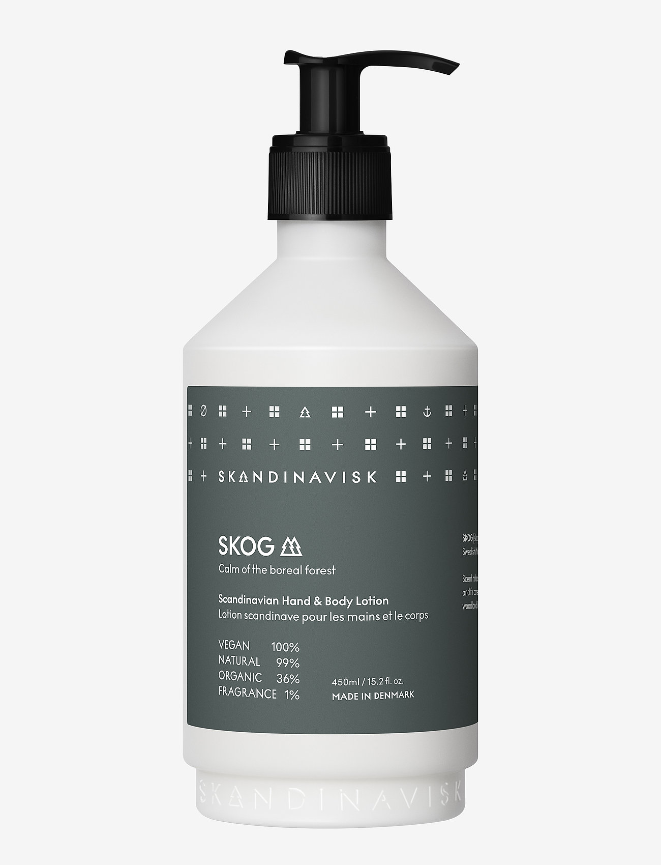 Skandinavisk - SKOG Hand & Body Lotion 450ml - body lotion - forest green - 0