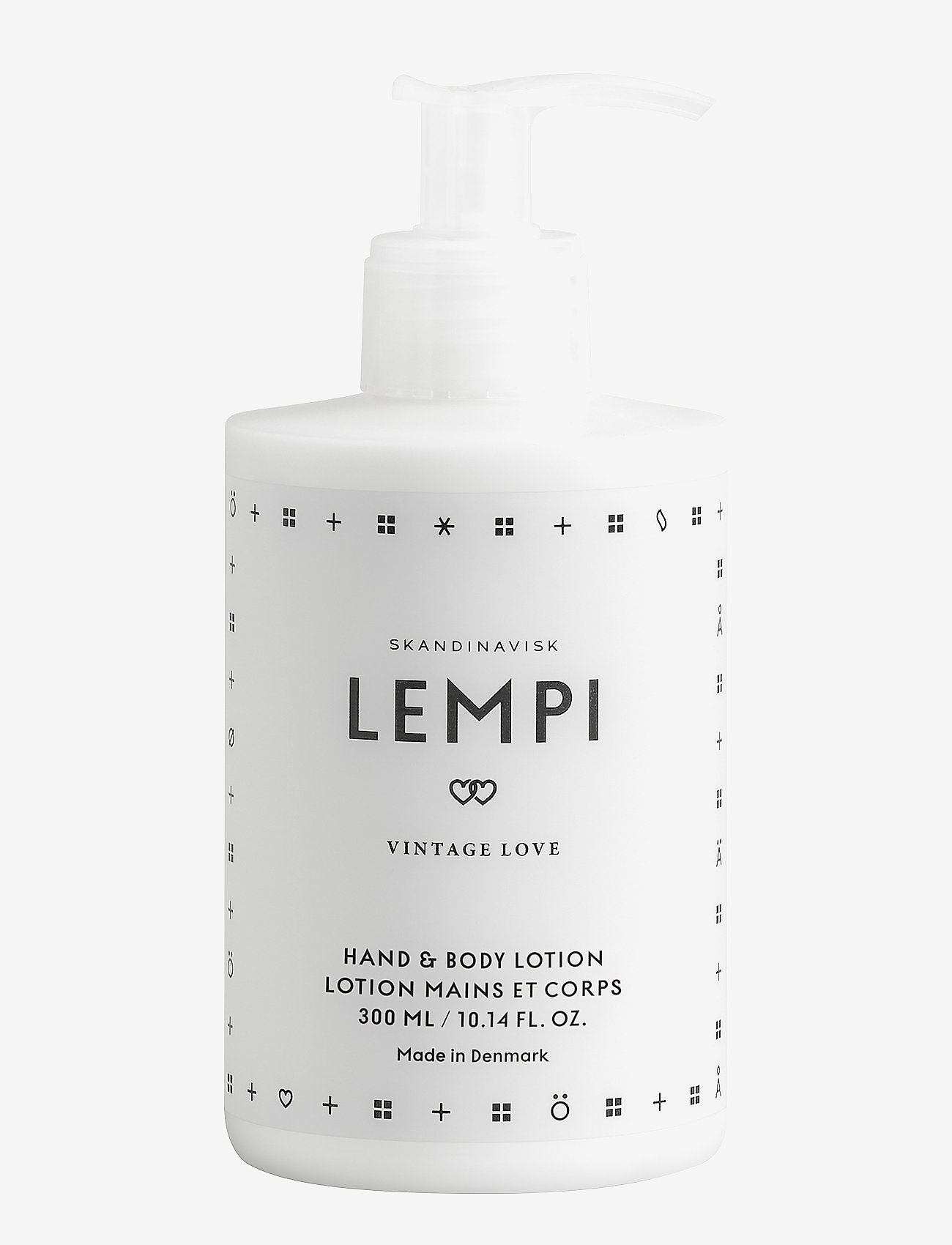 Skandinavisk - LEMPI Hand Lotion - käsivoide ja jalkavoide - white/black - 0