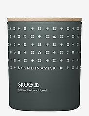 Skandinavisk - SKOG Scented Candle with Lid 200g - dufte - forest green - 0