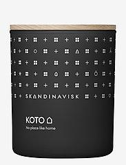 Skandinavisk - KOTO Scented Candle with Lid 200g - dufte - black - 0