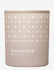 Skandinavisk - ROSENHAVE Scented Candle with Lid 200g - dufte - powder pink - 0