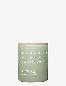 FJORD Scented Candle with Lid 65g - dufte - fjord green