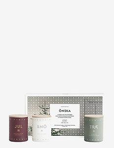 ÖNSKA Mini Candle Set - NO COLOUR