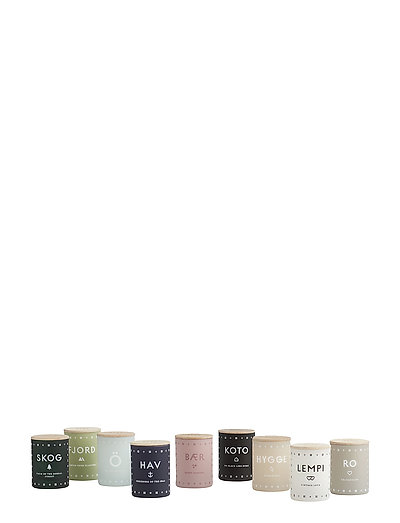 SENSE OF SCANDINAVIA Mini Candle Collection - NO COLOUR