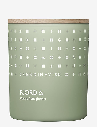FJORD Scented Candle with Lid 200g - duft - fjord green