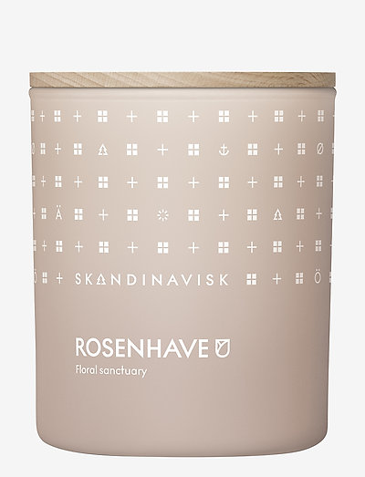 ROSENHAVE Scented Candle with Lid 200g - duft - powder pink