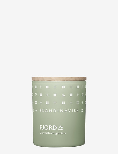 FJORD Scented Candle with Lid 65g - huonetuoksut - fjord green