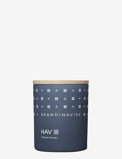 HAV Scented Candle with Lid 65g - duft - deep blue