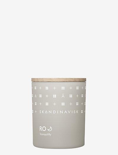 RO Scented Candle with Lid 65g - duft - cool grey