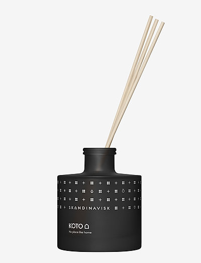 KOTO Reed diffuser 200ml - dufte - black