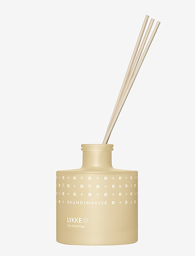 LYKKE Reed diffuser 200ml - dufte - powder yellow