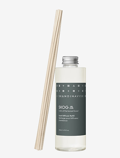 SKOG Reed diffuser refill 200ml - dufte - forest green