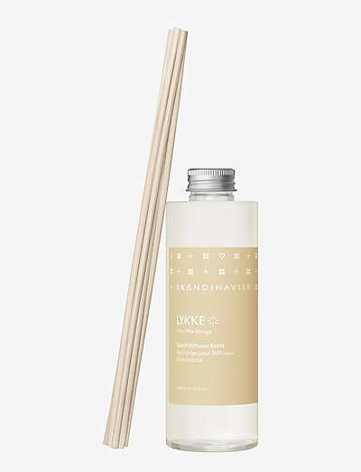 LYKKE Reed diffuser refill 200ml - dufte - powder yellow