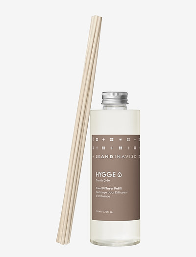 HYGGE Reed diffuser refill 200ml - dufte - camel brown