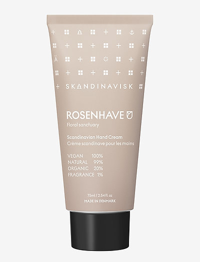 ROSENHAVE Hand Cream 75ml - håndkrem & fotkrem - powder pink