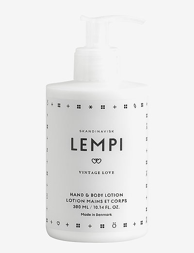 LEMPI Hand & Body Lotion - WHITE/BLACK