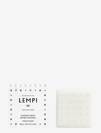 LEMPI Bar Soap - håndsæbe - white/black
